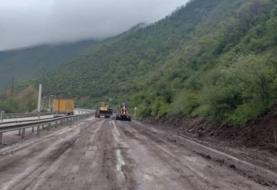جاده چالوس مسدود شد/محور سوادکوه بازگشایی شد