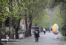 آسمان کشور تا سه روز آینده بارانی است/ وضعیت جوی پایتخت