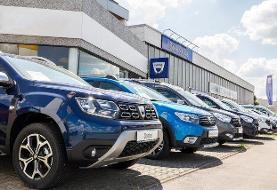 کاهش ۳۲ درصدی فروش خودرو در رومانی