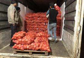 عوارض صادرات پیاز حذف شد