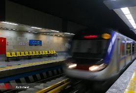 اجرای طرح فاصله گذاری اجتماعی در مترو با همکاری مسافران امکان پذیر است