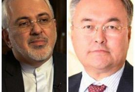 رایزنی تلفنی وزیران امور خارجه ایران و قزاقستان