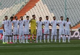 تیم ملی همچنان دومِ آسیا