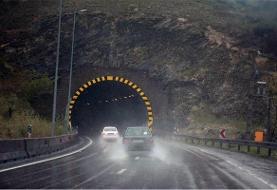 بارش برف و باران در جادههای ۱۶ استان / جاده هراز تا اطلاع ثانوی مسدود است