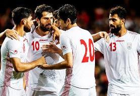 جایگاه فوتبال ایران در رنکینگ فیفا تغییر نکرد/ ۳۳ جهان و دوم آسیا