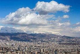 کیفیت هوای تهران نزدیک مرز ناسالم برای گروههای حساس