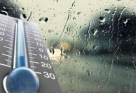 بارش باران پراکنده در نیمه شمالی کشور | تهران ۶ درجه خنک میشود