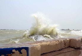 دریای عمان و تنگه هرمز مواج میشود