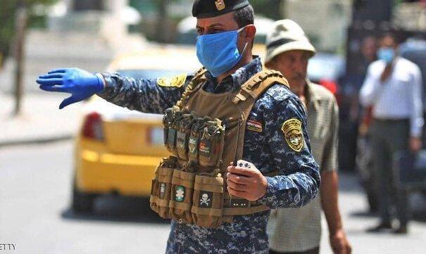 کل کشور عراق قرنطینه شد