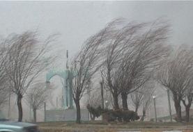 وزش باد شدید در شرق کشور/ افزایش دما در تهران تا پنجشنبه
