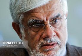 عارف درگذشت کاظم پور اردبیلی را تسلیت گفت
