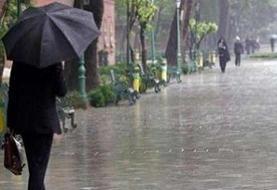 آخر هفته بارانی در شمال غرب کشور/ کاهش نسبی دما در نوار ساحلی خزر