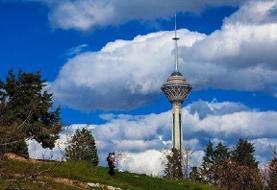 کیفیت قابل قبول هوای تهران/ پیش بینی دمای ۳۸ درجه در روز شنبه