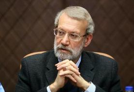 لاریجانی انتخاب قالیباف به ریاست مجلس را  تبریک گفت