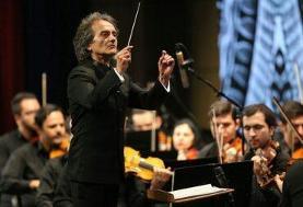 شهرداد روحانی برای چهارمین سال همکاری اش با ارکستر سمفونیک تهران یادداشتی منتشر کرد