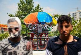 (تصاویر) دستگیری سارقین مسلح غرب تهران