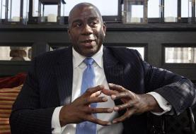 Granderson: With $100 million, Magic Johnson pays it forward