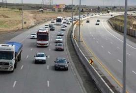 فیلم | ترافیک نیمهسنگین در جادههای قزوین و کرونا