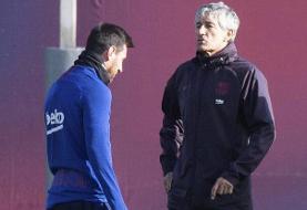 واکنش سرمربی بارسلونا به اظهارات بحث برانگیز مسی