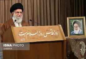 اورشلیم پست: آیتالله خامنهای تاکید کرد غده سرطانی به زودی از بین میرود