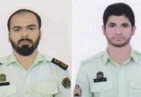 بازدید مقام انتظامی از محل شهادت ماموران انتظامی در سرباز