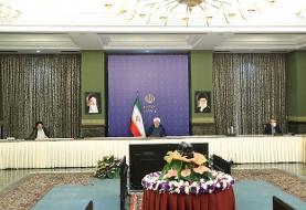 تقدیر رئیس جمهور از علی لاریجانی