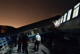 جزئیات حادثه خروج قطار همدان-مشهد از ریل تشریح شد