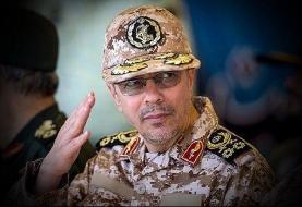 پیام سرلشکر باقری به  روسای ستاد کل نیروهای مسلح کشورهای اسلامی