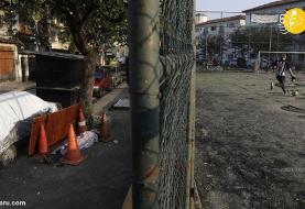 (تصاویر) جسد یک کرونایی ۳۰ ساعت در خیابان ماند!