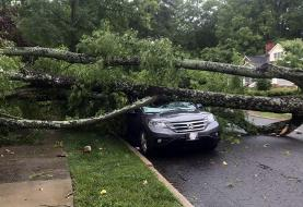 Two dead in severe storms in Carolinas; thousands without power