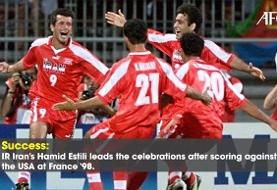 گل تاریخی حمید استیلی به آمریکا در بین تصاویر برتر فوتبال آسیا/عکس