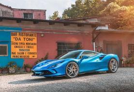 فراری F۸ Tributo؛ ستارهای دیگر بر فراز آسمان خودروساز محبوب ایتالیایی