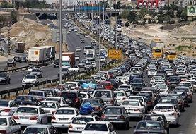 ترافیک پرحجم در ورودی و خروجی مشهد