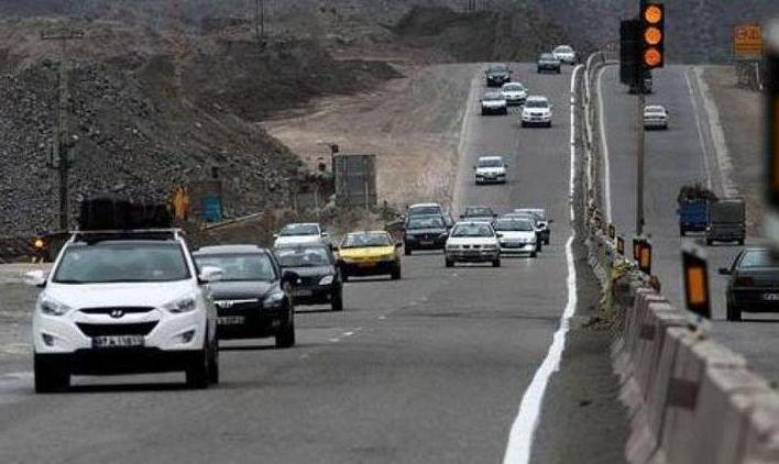 وضعیت ترافیکی جادهها در تعطیلات عید فطر