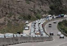 فیلم | ترافیک جاده چالوس در روزهای اوج دوباره کرونا را ببینید