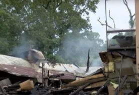 A Mississippi church that violated coronavirus orders was burned down. A spray-painted message ...