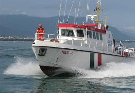 نجات ۵ ماهیگیر محلی توسط تیم جستجو و نجات دریایی بندر نوشهر