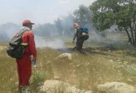 بیش از ۱۵۰ هکتار جنگل و مرتع گچساران در آتش سوخت