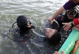 غرق شدن جوان ۲۵ ساله در بند گلستان مشهد