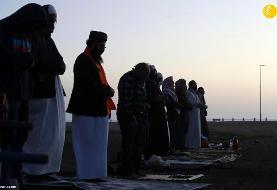 (تصاویر) نماز و جشن عید فطر در کشورهای مختلف