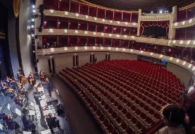 (تصاویر) کنسرت آنلاین همایون شجریان