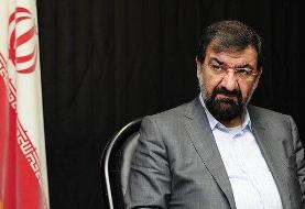 پیش بینی محسن رضایی از زمان فرو ریختن و کوچک تر شدن اسرائیل