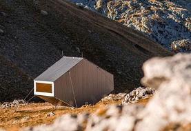 خانه ای نامتعارف در کوهستان! (+تصاویر)