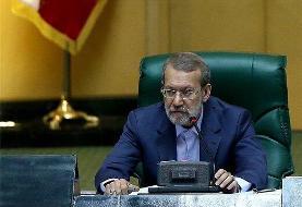 برخی به واسطه دشمنی با شخص علی لاریجانی می کوشند از جایگاه رییس مجلس تنها یک استیکر بسازند!