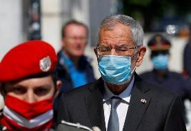 رئیس جمهوری اتریش از بابت نقض قوانین قرنطینه عذرخواهی کرد
