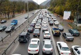ترافیک سنگین صبحگاهی در هراز و کندوان