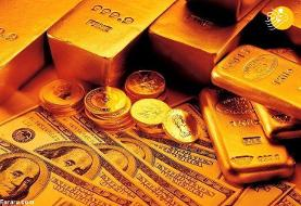نرخ طلای ۱۸ عیار و قیمت انواع ارز، دلار، سکه و طلا در بازار امروز ۶ خرداد ۹۹