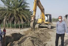 وعده جدید به مردم غیزانیه خوزستان؛ ظرف سه هفته آینده مشکل آب حل میشود