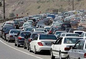 اعمال محدودیتهای ترافیکی جادهای در گیلان