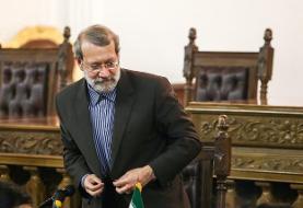تجلیل مراجع عظام تقلید از خدمات لاریجانی در  دوران ریاست مجلس